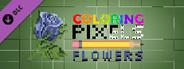 Coloring Pixels: Flowers Pack