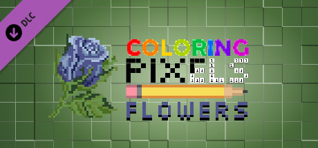 Coloring Pixels: Flowers Pack