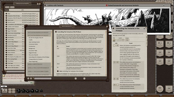 Fantasy Grounds - Dungeon Crawl Classics #68: The People of the Pit (DCC) (DLC)