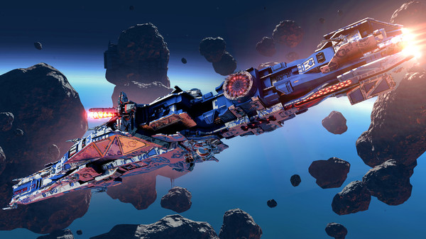 Star Conflict - Jericho destroyer Tyrant (DLC)