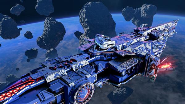 Star Conflict: Jericho destroyer Tyrant (DLC)