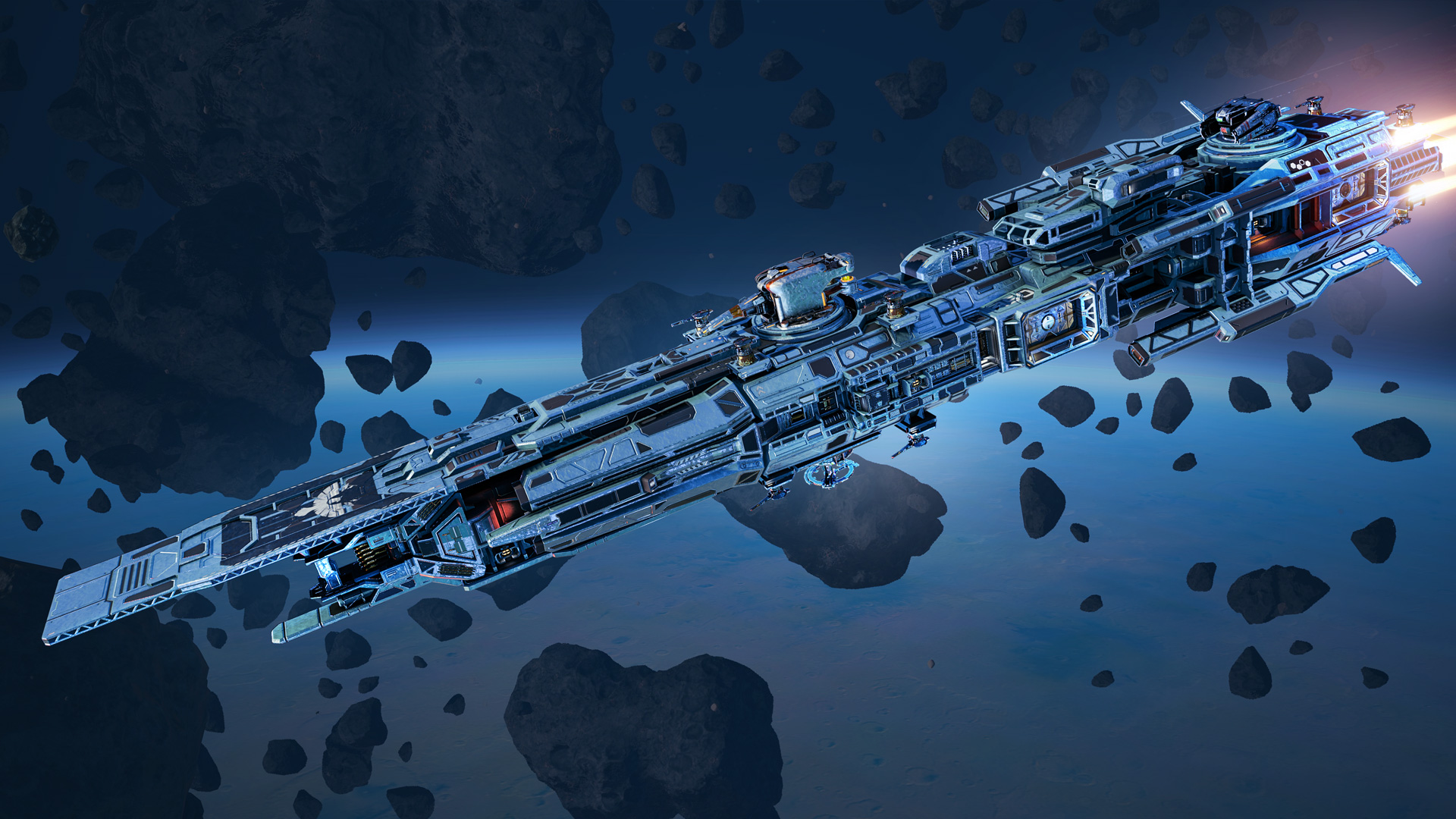 Star conflict - allodium destroyer starter packaging