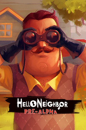 Hello Neighbor Pre-Alpha poster image on Steam Backlog