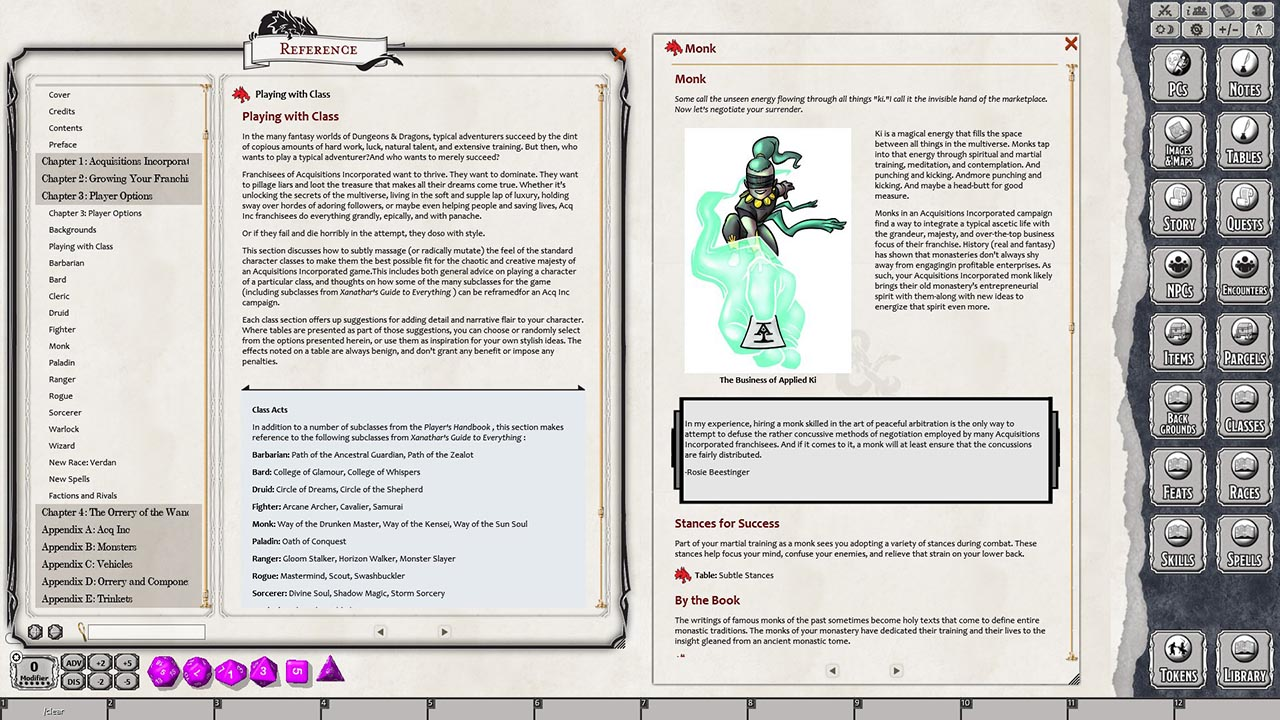 Fantasy Grounds - D&D Acquisitions Incorporated