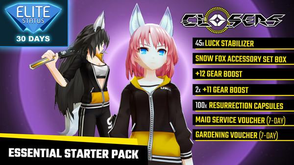 Closers: Essential Starter Pack (DLC)