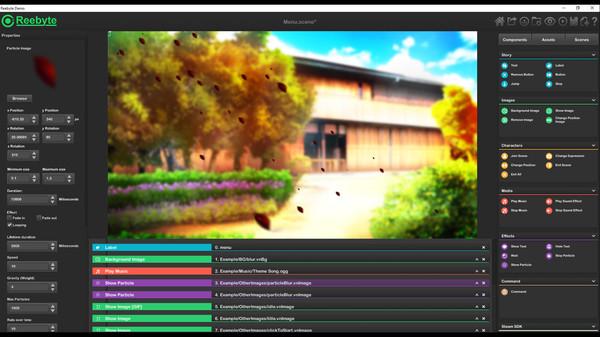 Скриншот из Reebyte : Visual Novel and Interactive App Maker