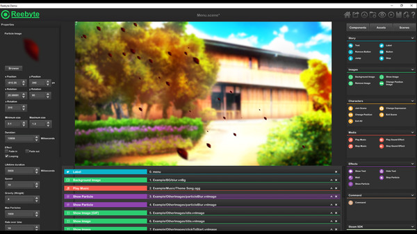 Reebyte : Visual Novel and Interactive App Maker