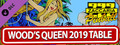 Zaccaria Pinball - Wood's Queen 2019 Table