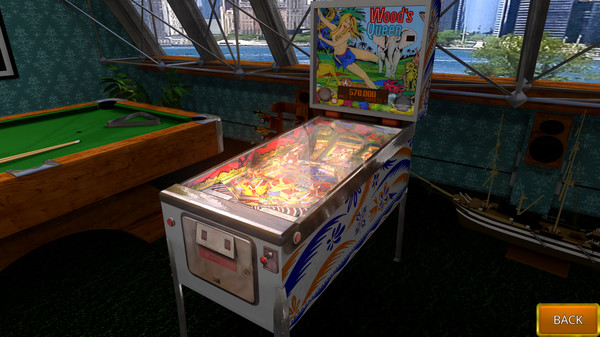 Zaccaria Pinball - Wood's Queen 2019 Table (DLC)