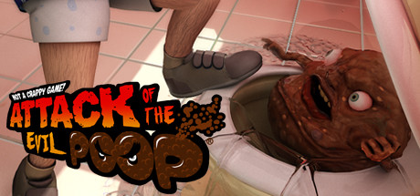 ATTACK OF THE EVIL POOP cover art