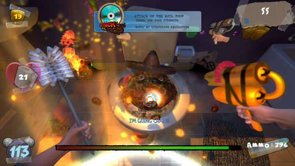 ATTACK OF THE EVIL POOP ScreenShot 1