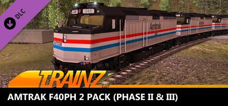 Trainz 2019 DLC: Amtrak F40PH 2 pack on Steam