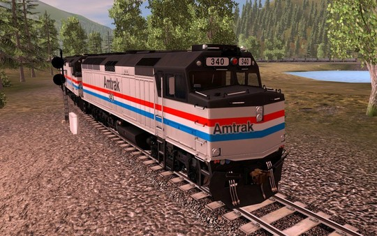 Trainz 2019 DLC: Amtrak F40PH 2 pack
