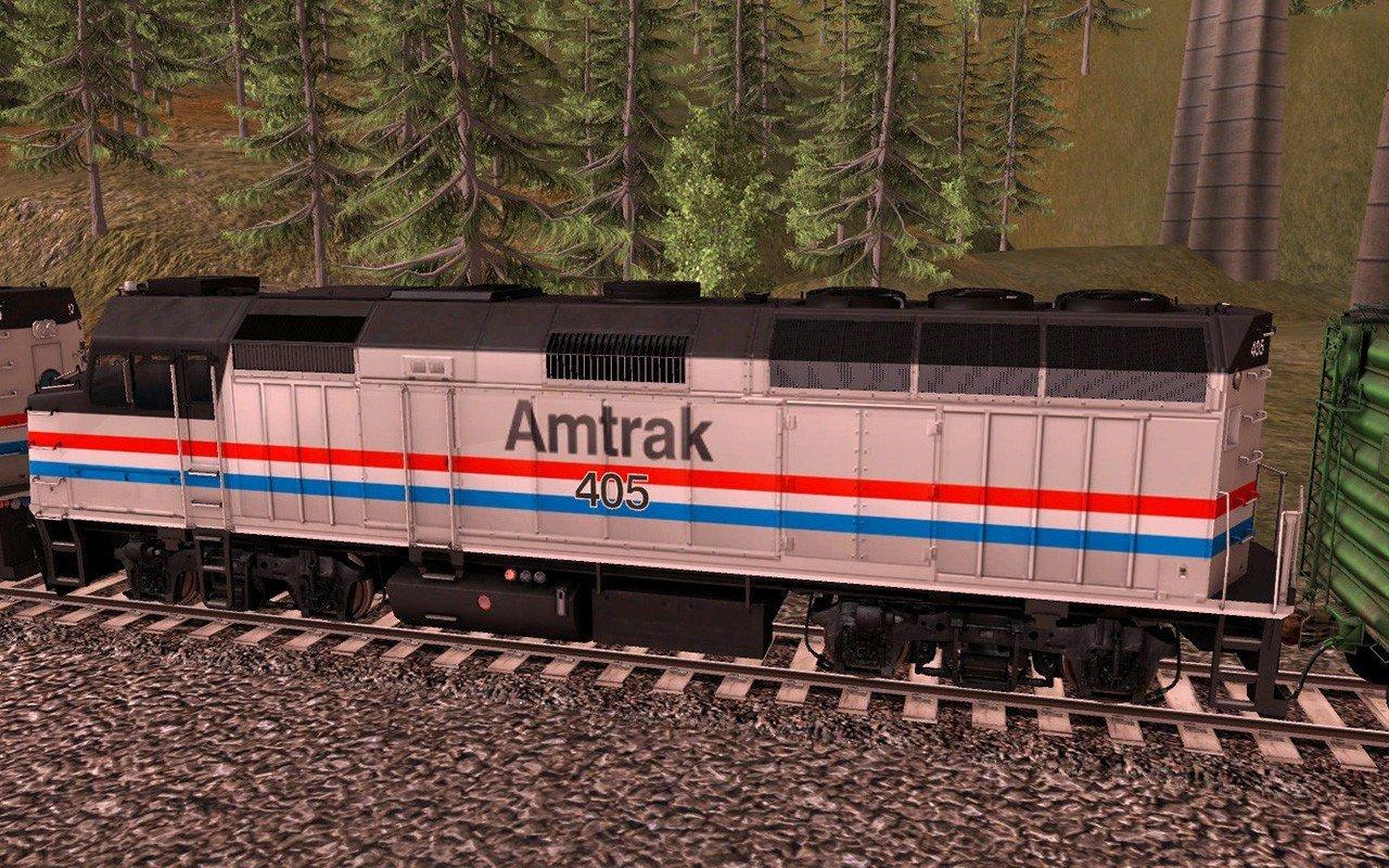 Trainz 2019 DLC: Amtrak F40PH 2 pack