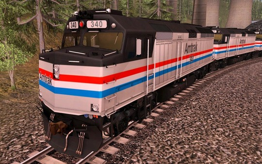 TANE DLC - Amtrak F40PH 2 pack