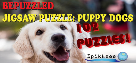 Bepuzzled Puppy Dog Jigsaw Puzzle