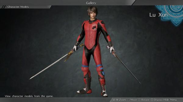 """DYNASTY WARRIORS 9: Lu Xun """"Racing Suit Costume"""" / 陸遜「レーシングスーツ風コスチューム」 (DLC)"""