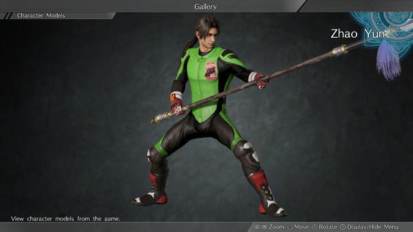 "DYNASTY WARRIORS 9: Zhao Yun ""Racing Suit Costume"" / 趙雲「レーシングスーツ風コスチューム」 (DLC)"