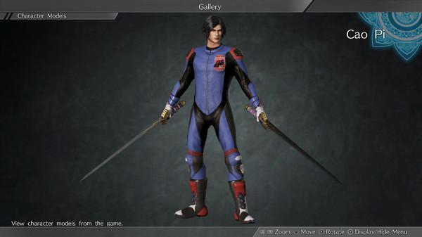 "DYNASTY WARRIORS 9: Cao Pi ""Racing Suit Costume"" / 曹丕「レーシングスーツ風コスチューム」 (DLC)"