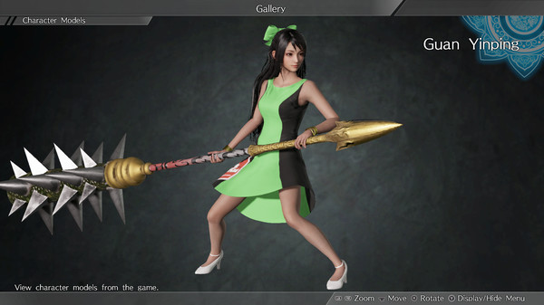 "DYNASTY WARRIORS 9: Guan Yinping ""Race Queen Costume"" / 関銀屏「レースクイーン風コスチューム」 (DLC)"