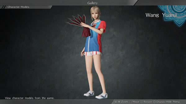 """DYNASTY WARRIORS 9: Wang Yuanji """"Race Queen Costume"""" / 王元姫「レースクイーン風コスチューム」 (DLC)"""