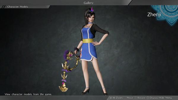 "DYNASTY WARRIORS 9: Zhenji ""Race Queen Costume"" / 甄姫「レースクイーン風コスチューム」 (DLC)"