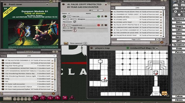 Fantasy Grounds - D&D Classics: S1 Tomb of Horrors (1E) (DLC)