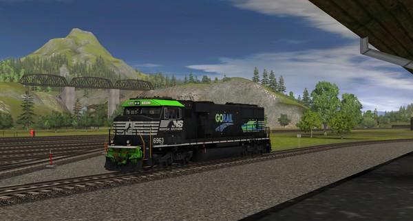 TANE DLC - NS SD60E - 6963 GoRail