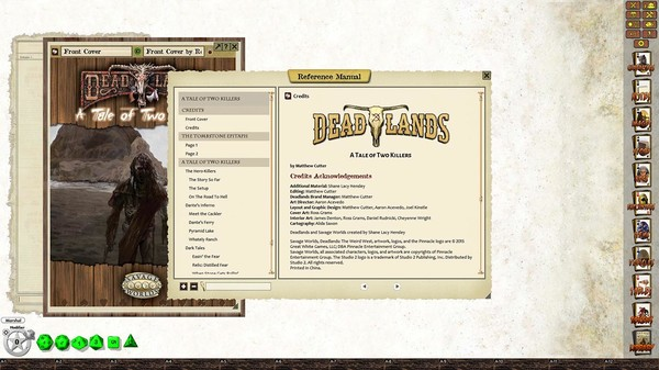 Fantasy Grounds - Deadlands Reloaded: A Tale of Two Killers (Savage Worlds) (DLC)
