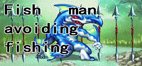 Fish man avoiding fishing