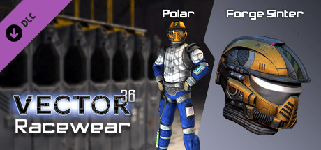 Vector 36 Racewear- Forge Sinter / Polar