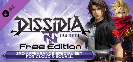 DFF NT: 3rd Appearance Special Set for Cloud & Squall