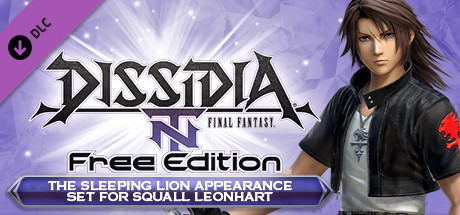 Dff Nt Sleeping Lion App Set 5th Weapon For Squall Leonhart On Steam
