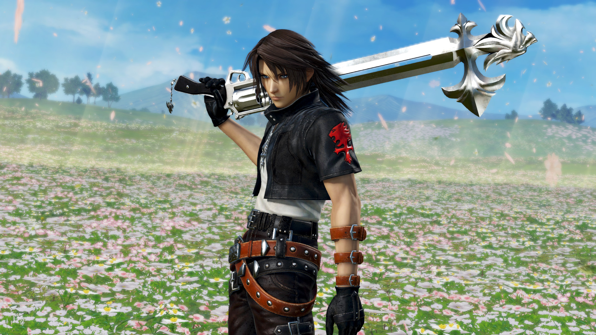 DFF NT: Sleeping Lion App. Set. & 5th Weapon For Squall