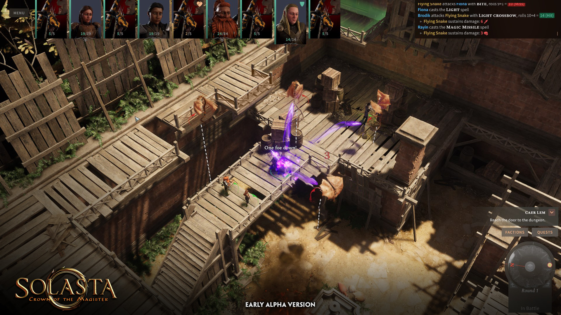 SOLASTA CROWN OF THE MAGISTER EARLY ACCESS