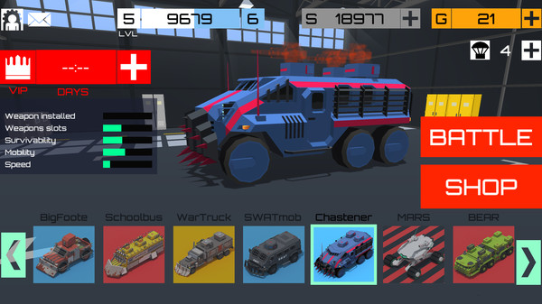 CUBG: Car Unknown's Battlegrounds