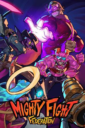Mighty Fight Federation poster image on Steam Backlog