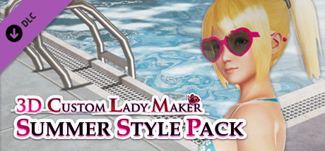 Купить 3D Custom Lady Maker - Summer Style Pack (DLC)
