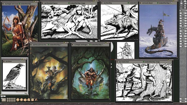 Fantasy Grounds - D&D Classics: PHBR11 The Complete Ranger's Handbook (2E) (DLC)