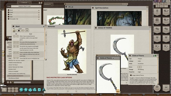 Fantasy Grounds - Margreve Player's Guide (5E) (DLC)
