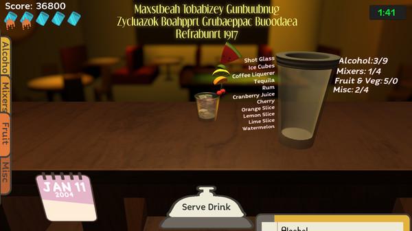 Uh Oh Bartender