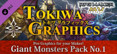 Купить RPG Maker MV - TOKIWA GRAPHICS Giant Monsters Pack No.1 (DLC)