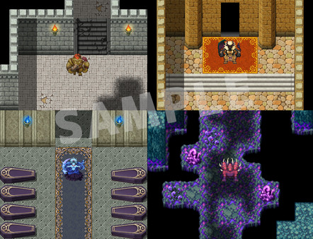 RPG Maker MV - TOKIWA GRAPHICS Giant Monsters Pack No.1 (DLC)