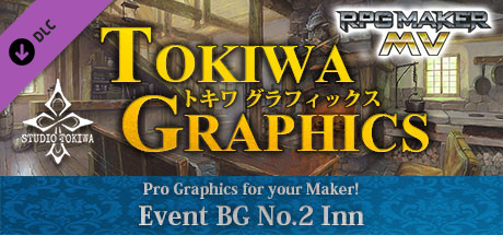 Купить RPG Maker MV - TOKIWA GRAPHICS Event BG No.2 Inn (DLC)
