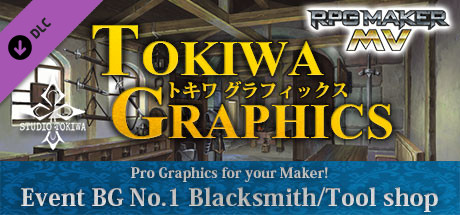 Купить RPG Maker MV - TOKIWA GRAPHICS Event BG No.1 Blacksmith/Tool shop (DLC)