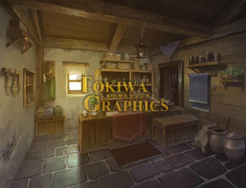 RPG Maker MV - TOKIWA GRAPHICS Event BG No 1 Blacksmith/Tool