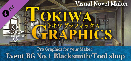 Купить Visual Novel Maker - TOKIWA GRAPHICS Event BG No.1 Blacksmith/Tool shop (DLC)