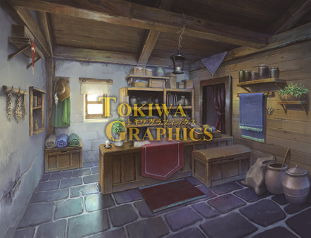 Visual Novel Maker - TOKIWA GRAPHICS Event BG No.1 Blacksmith/Tool shop (DLC)