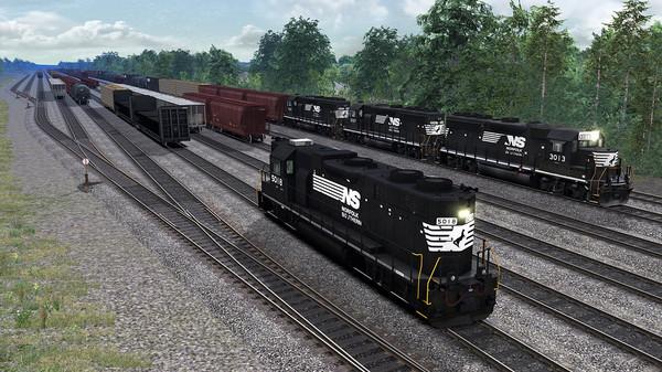 скриншот TS Marketplace: Norfolk Southern N-Line Scenario Pack 01 5