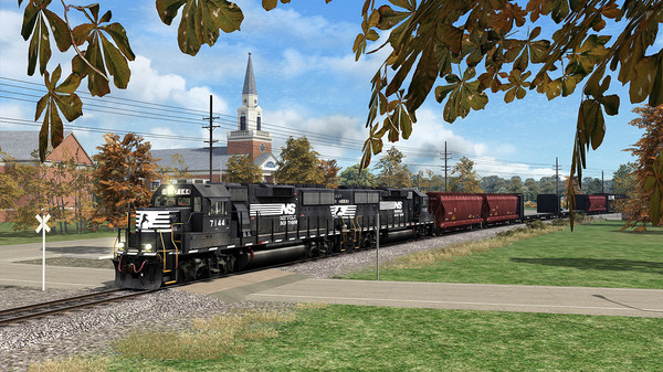 скриншот TS Marketplace: Norfolk Southern N-Line Scenario Pack 01 0